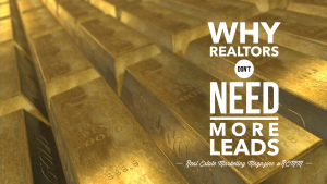 Why Realtors Don't Need More Leads