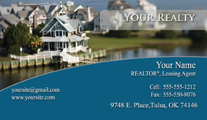 Business Card for Real Estate Marketing